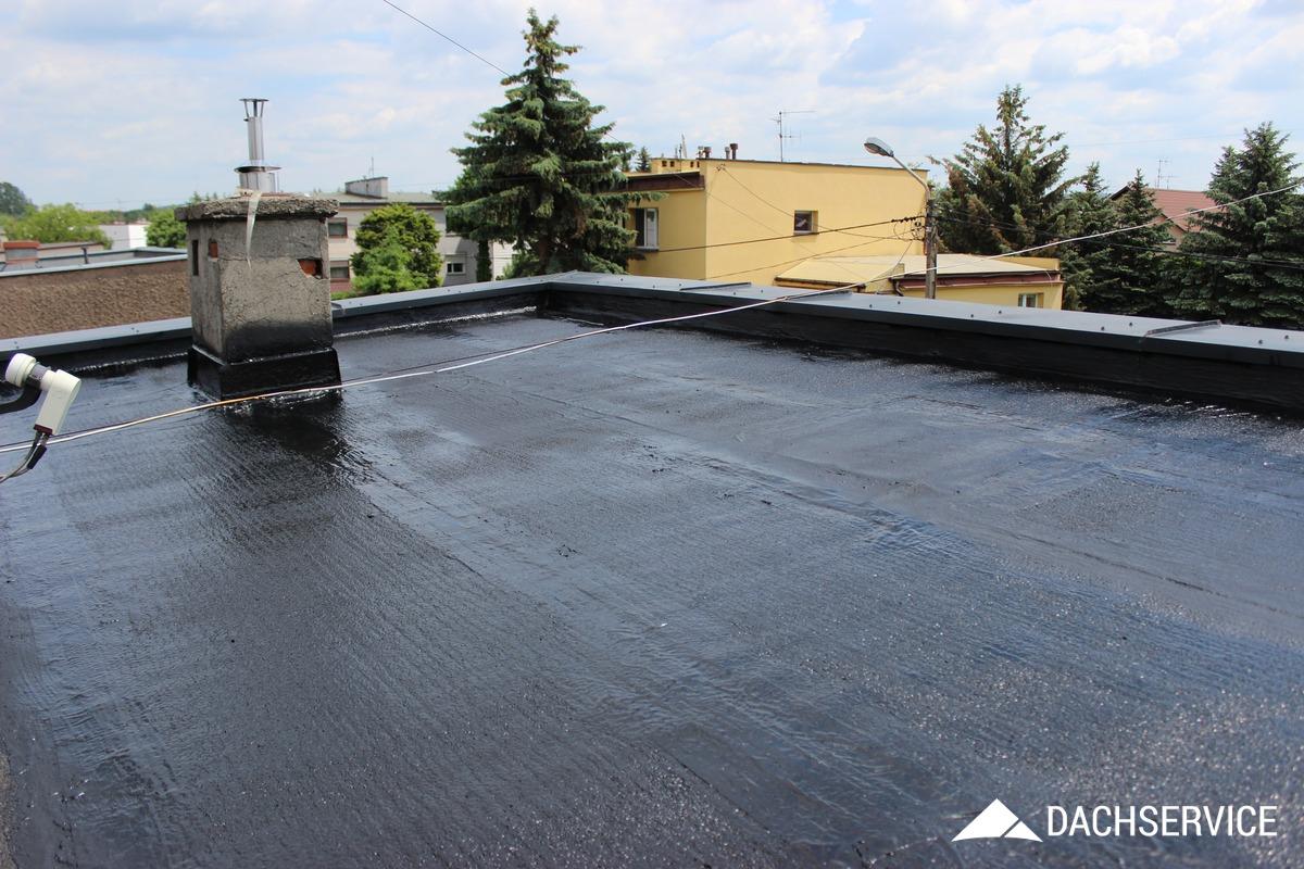 Uszczelnianie dachu z papy