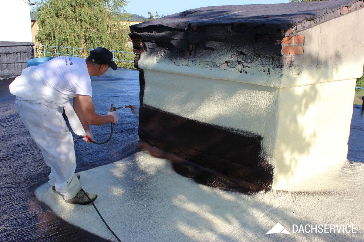 Naprawa dachu gumą w płynie CWS
