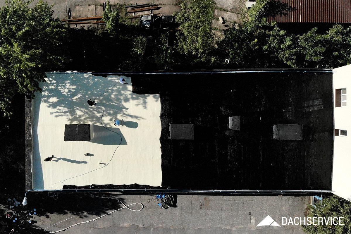 Dach Service - Izolacja dachu gumą CWS R