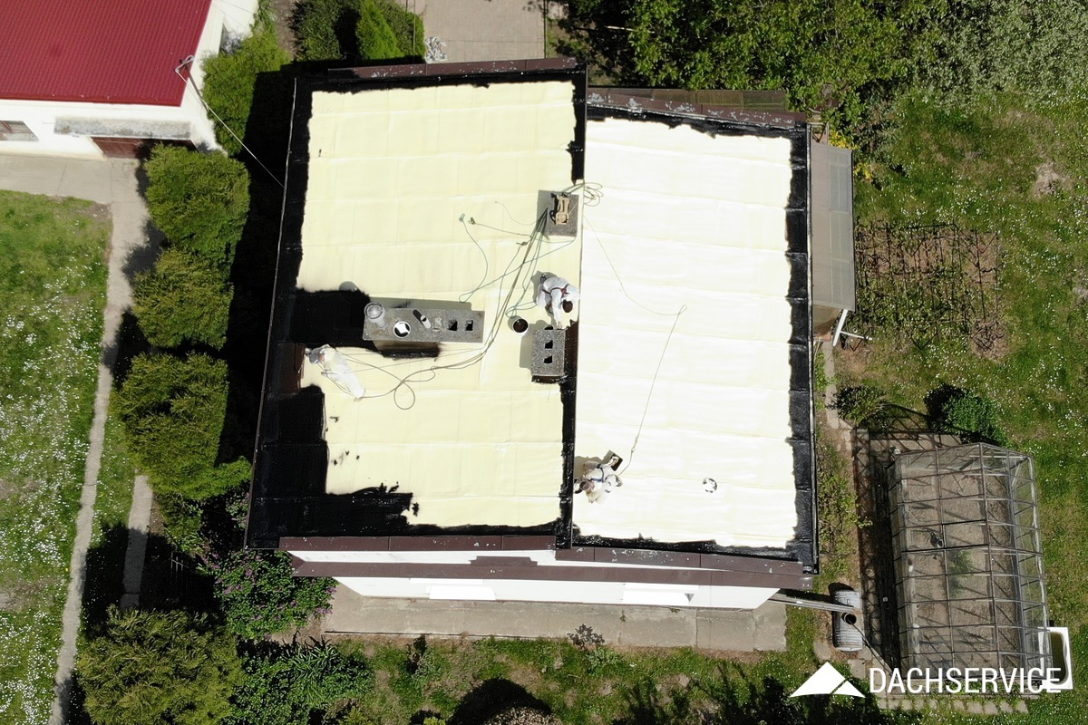 Naprawa dachu metodą Duosil